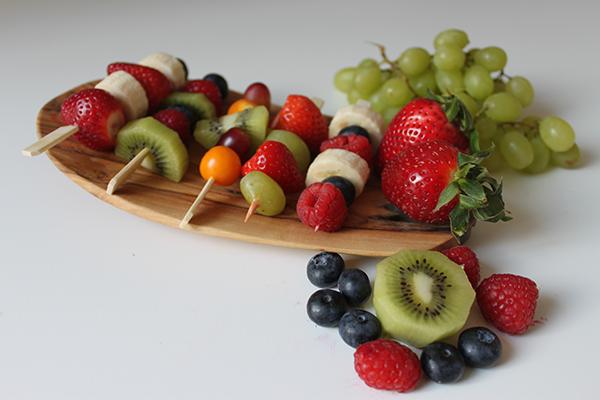 10x Fruchtspieße